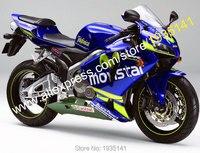 Ventas calientes, Movistar carenado de la motocicleta para Honda F5 CBR 600 RR 2005 2006 CBR600RR 05 06 ABS Moto cuerpo ( moldeo por inyección )