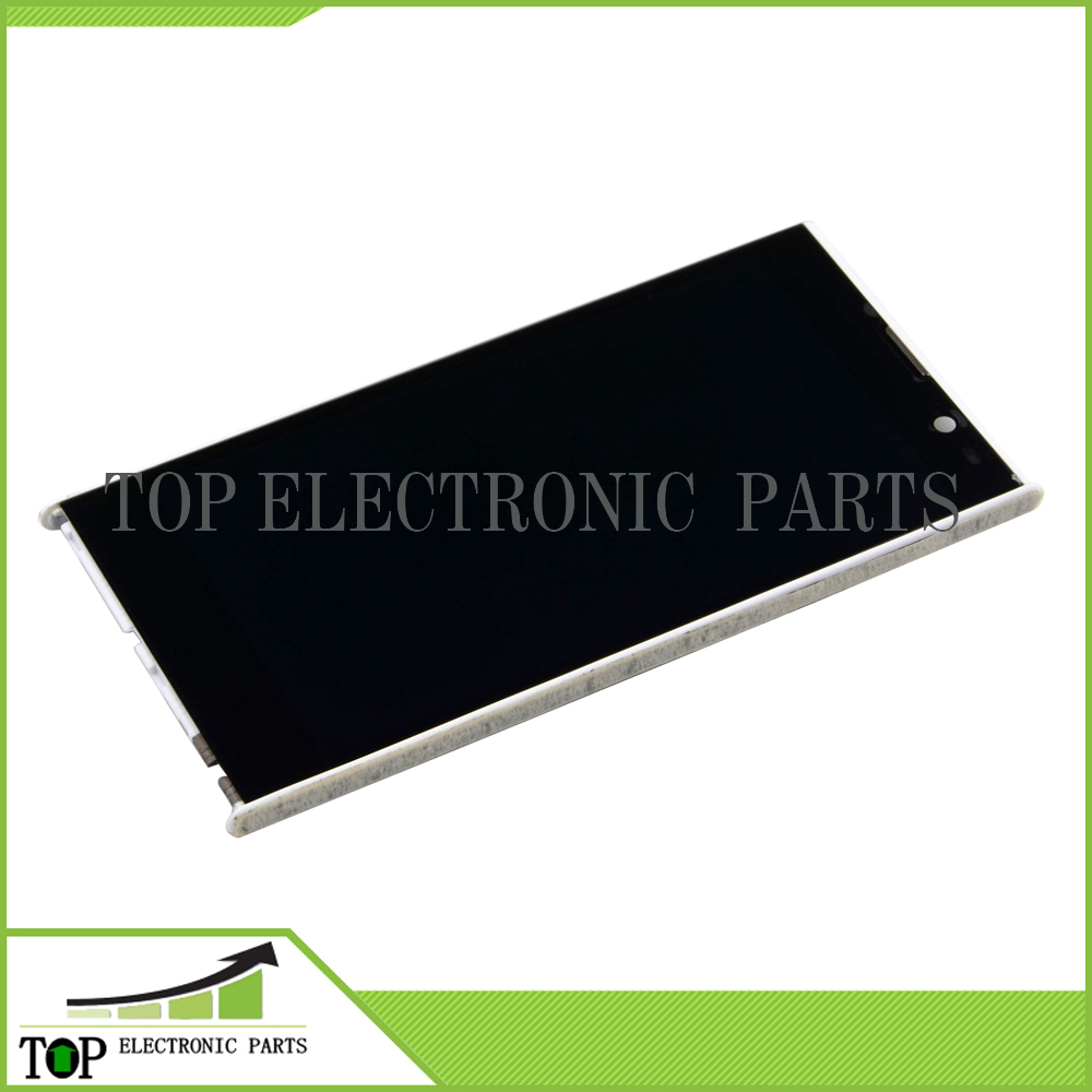 White color Original 5 inch inew v3C LCD Display digitizer + inew V3C Touch Screen without frame