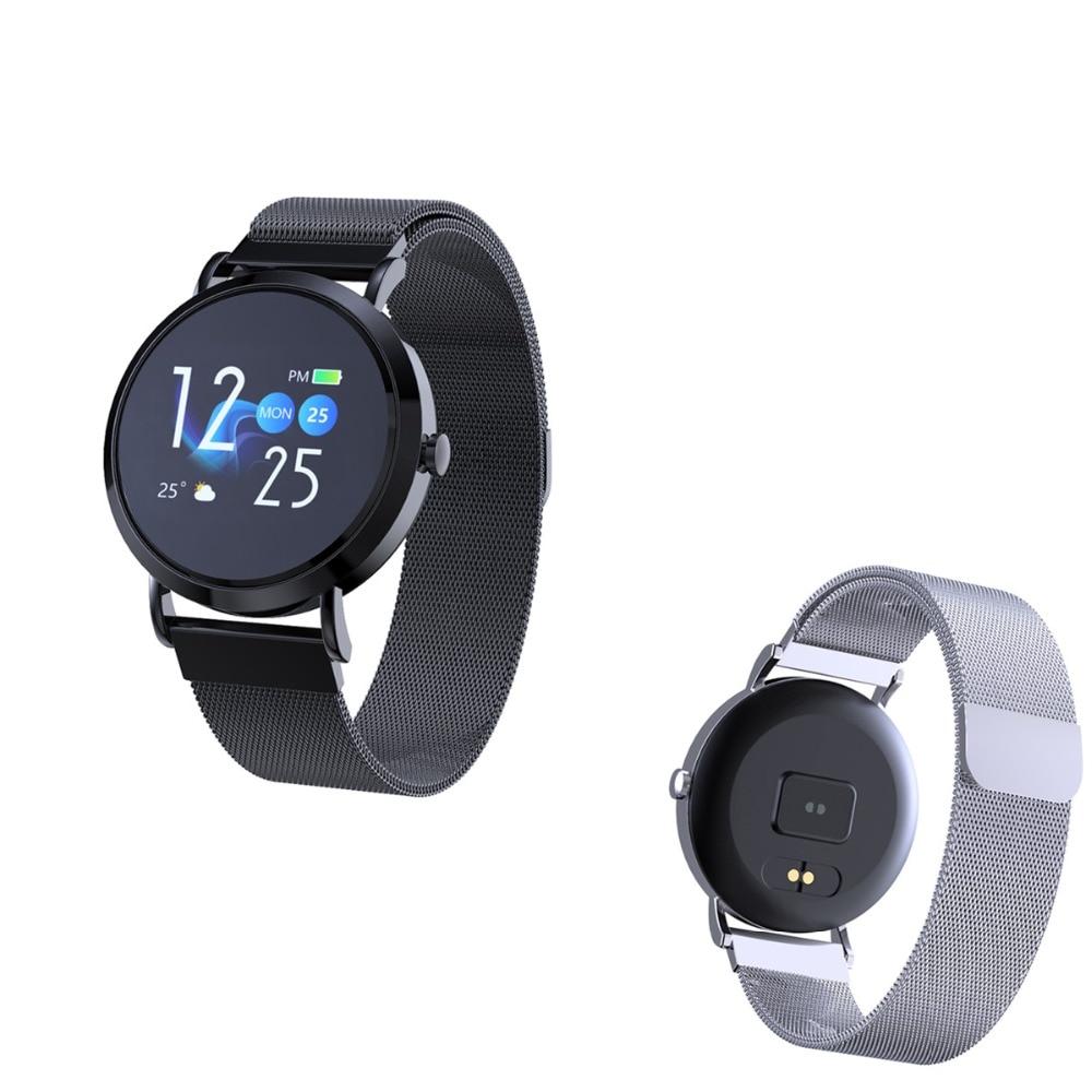 696 CV08C montre intelligente Hombre hommes femmes Smartwatch tension artérielle moniteur de fréquence cardiaque Whatsapp Facebook Tracker de Fitness