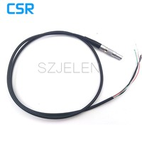 SZJELEN FGG.00B.304 4 pin plug, weld with 0.7 meter cable, voice frequency connector, cable plug, Camera plug extension cord