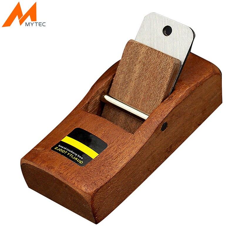 MYTEC 4 ''/110mm Mini cepilladora de mano de madera de borde de corte fácil para herramientas de carpintería de afilado de carpintero
