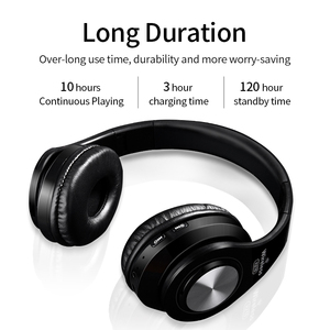 Image 2 - Wireless Headphones Bluetooth Headset Foldable Stereo Headphone Gaming Earphones Support TF Card With Mic For PC All phone Mp3