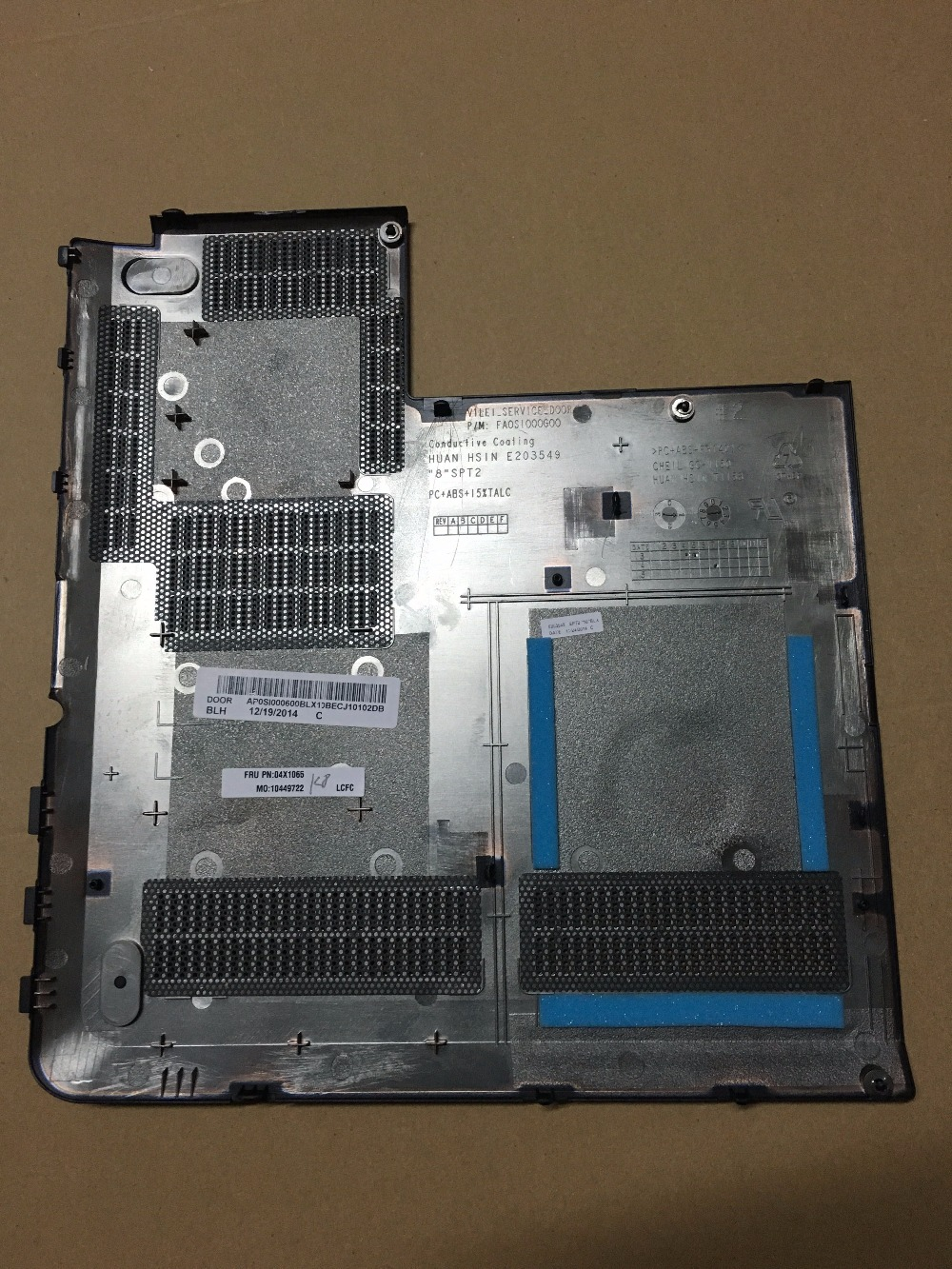 New Original For Lenovo ThinkPad E431 E440 Bottom RAM HDD Hard Drive Memory  Cover Door AP0SI000600-in Laptop Bags & Cases from Computer & Office on