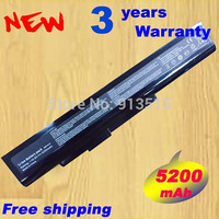 NEW Laptop battery A32 A15 40036064 for msi A6400 CX640(MS 16Y1) CR640 Gigabyte Q2532N DNS 142750 153734 157296