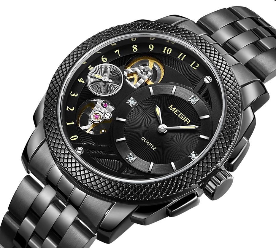 HTB1nLQJX5nrK1RjSsziq6xptpXaq MEGIR Luxury Quartz Watches Stainless Steel Military Wrist Watch