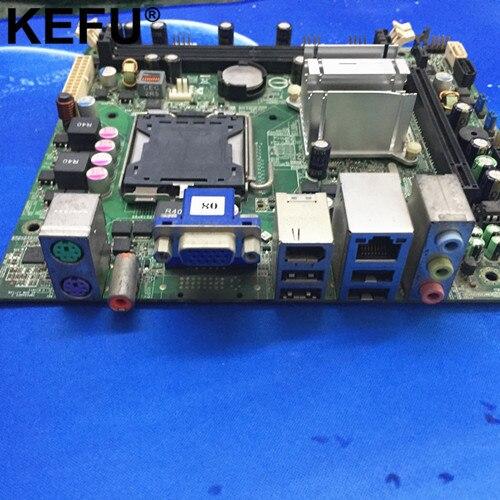 Convient pour MCP73S01 Irvine-GL6E carte mère de bureau GF7100 5189-0652 492934-001, mini-itx, LGA 775, DDR2, travail parfait