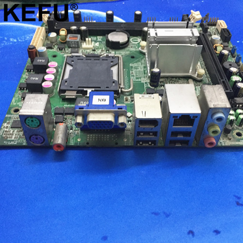 SUITABLE FOR MCP73S01 Irvine-GL6E Desktop Motherboard GF7100 5189-0652 492934-001,Mini-ITX, LGA 775,DDR2,work perfect цена