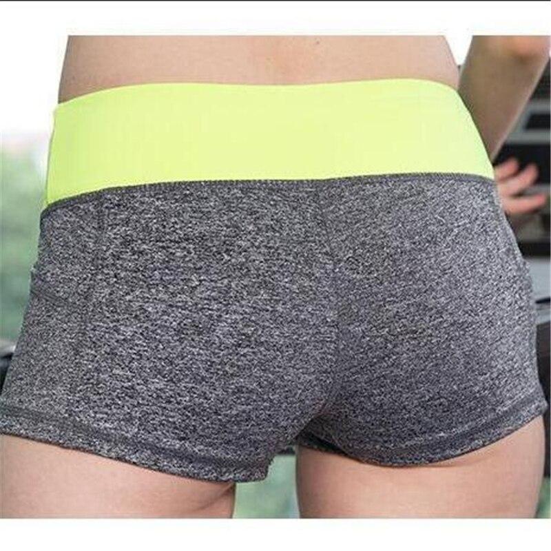 11 Colors New Gym Running Sport Sexy Womens Shorts Brand Fitness Sport Short Femme Wicking Jogging Trouser Women 2017