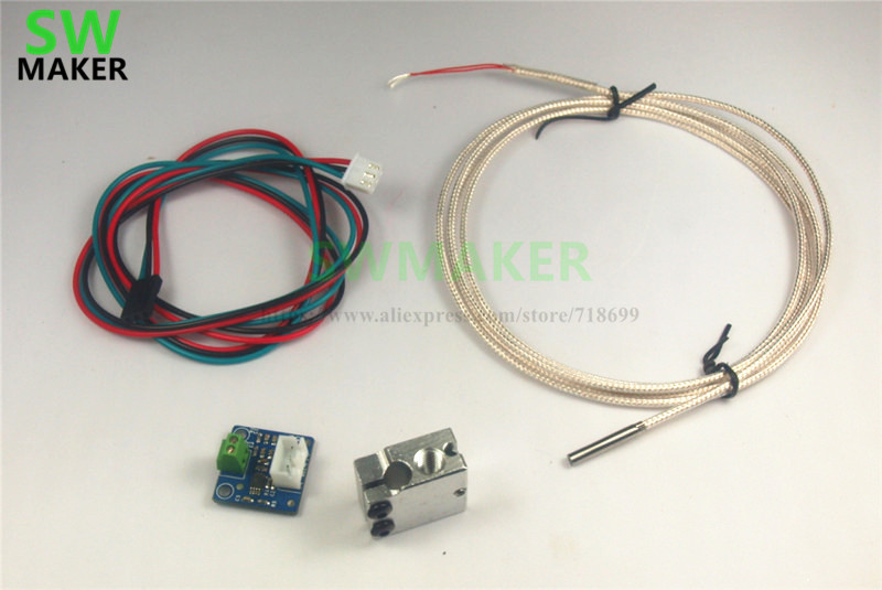 Reprap Prusa I3 Volcano PT100 Upgrade Kit For DIY 3D