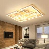 New Arrival Stylish Led Chandelier For Living Room Bedroom Study Room Home Deco AC85 265V Ceiling