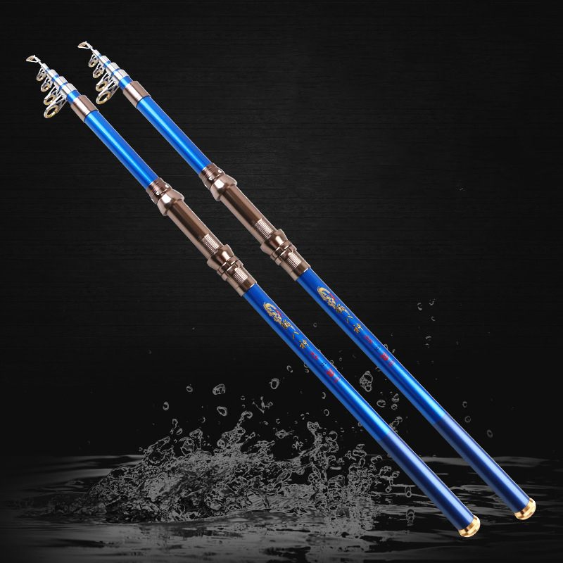 Super Hard Sea Telescopic Fishing Rod High Carbon River Stream Fishing Hand Rod Ultra Light Portable Hand Rod 2.1/2.7/3.6m 2pcsSuper Hard Sea Telescopic Fishing Rod High Carbon River Stream Fishing Hand Rod Ultra Light Portable Hand Rod 2.1/2.7/3.6m 2pcs