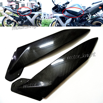 New 2 x Carbon Fiber Tank Side Covers Panels Fairing For Yamaha YZF R1 2002 2003 YZF-R1 02-03 YZFR1 Tank Side Cover Panel