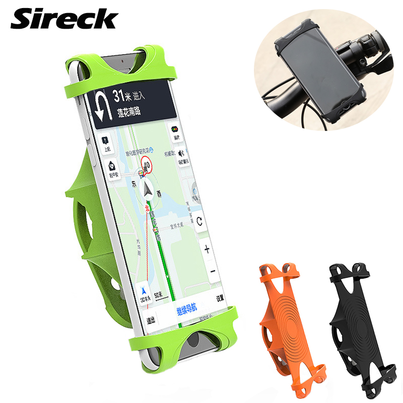 Sireck Bike Bag Elasticity Silica Gel Bike Phone Holder Bicycle Bag Cycling Handlebar Phone Holder Stand Bycicle Accessories bicycle phone holder universal mtb bike handlebar mount holder cell phone stand bicycle holder cycling accessories parts