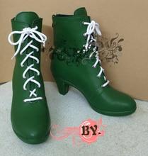 Сейлор Мун Кино Макото Косплэй Chaussures Bottes на заказ Бесплатная доставка