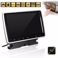 10 inch Car DVD Player Active HD for Touch Headrest Monitor Game Handle LCD 1024X600 Portable Car DVD Player
