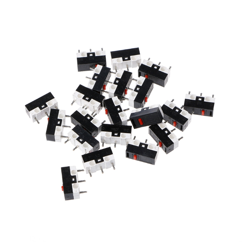 10PCS Button Switch 3Pin Mouse Switch Microswitch For RAZER Logitech G700 Mouse 10pcs lot 100% original huano white dot blue shell mouse micro switch mouse button silver alloy contacts 20 millions lifetime