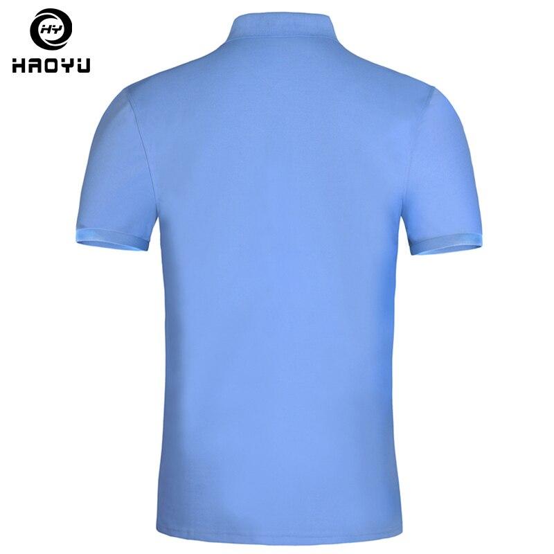 2018 Տղամարդկանց Polo Shirt ապրանքանիշի - Տղամարդկանց հագուստ - Լուսանկար 3