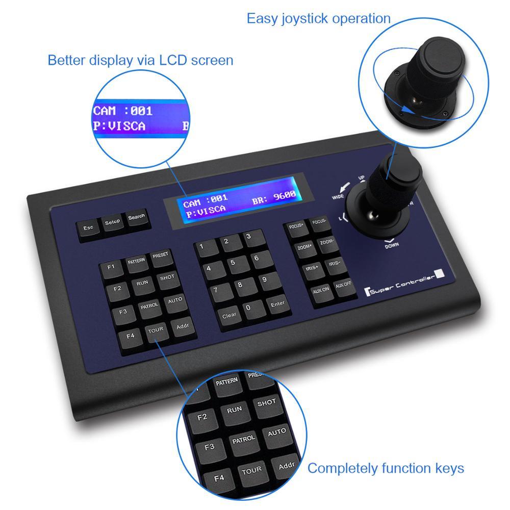 tenveo kz1 conferencia controlador de teclado joysticker 01