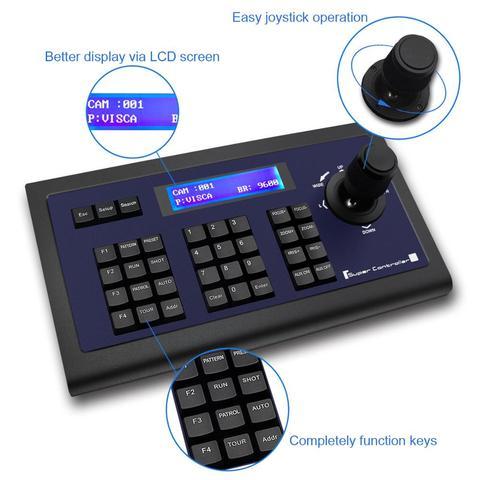 tenveo kz1 conferencia controlador de teclado joysticker