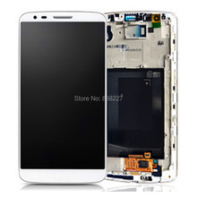 LCD For LG G3 D855 D850 LCD Screen Touch Display Digitizer Frame Assembly For LG G3 D855 D851  Grey Gold White