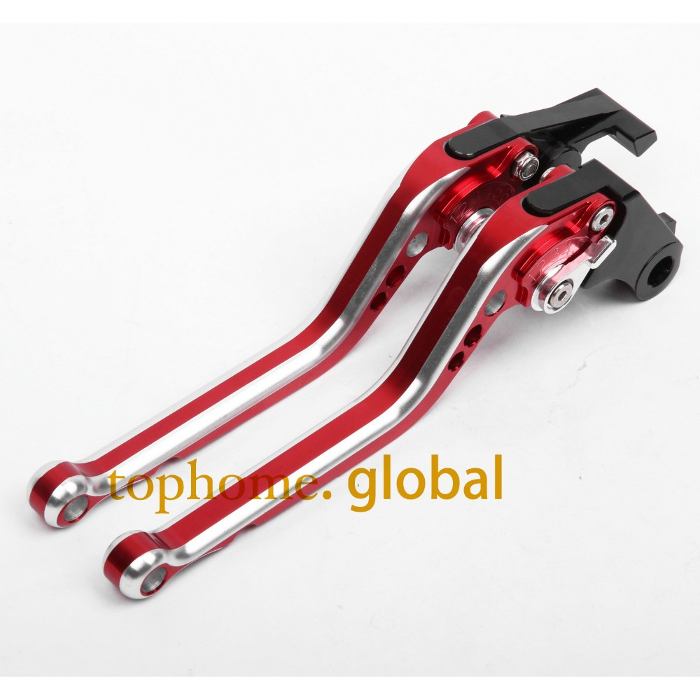 CNC Motorcycles Brake Clutch Levers Regular size Mixed Red&Silver Color For Honda CBR 600 F2,F3,F4,F4i 1991 1992 1993 1994-2007 hot sales hot sale cbr 600 f2 1991 1992 1993 1994 for honda cbr600 f2 1991 1994 movi star motorcycle fairings