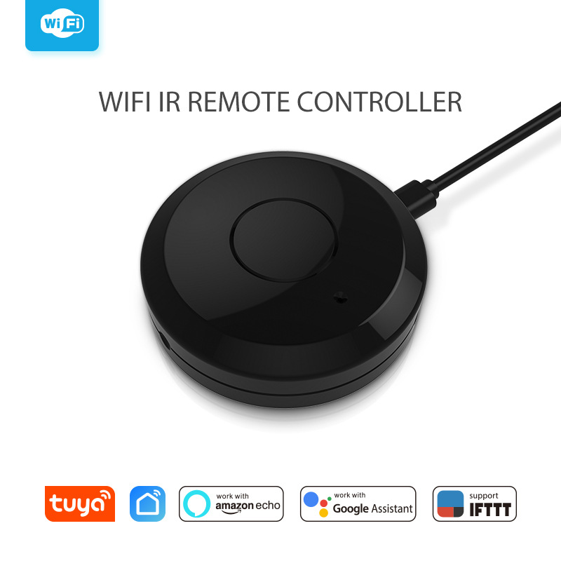 Image 2 - Smart Home Automation Intelligent Universal WIFI + IR Switch Remote Controller Work With Amazon Alexa Echo Dot Google home-in Home Automation Modules from Consumer Electronics