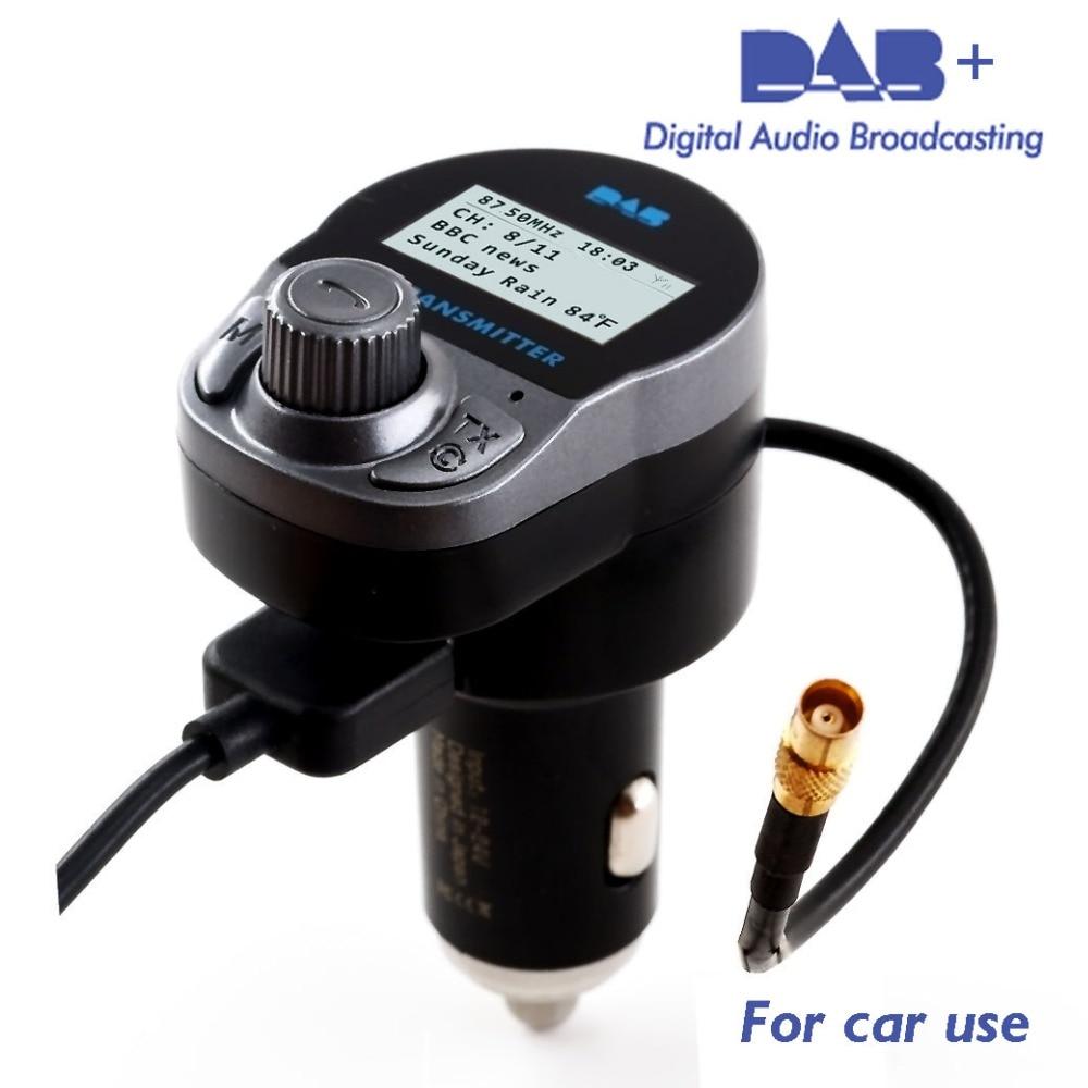jilang car dab radio converter in car with fm transmitter. Black Bedroom Furniture Sets. Home Design Ideas