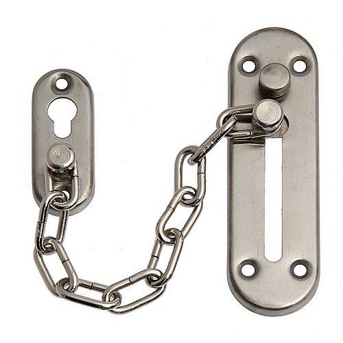 1pc Home Gate Door Lock Safety Security Chain Guard Peep Bolt ...