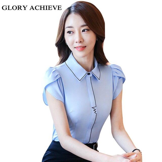 Aliexpress.com : Buy Glory achieve New Style Lady White Shirts ...