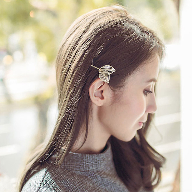 Leaf Shape Hairpin