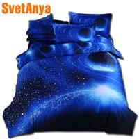 Svetanya Moon Star Galaxy bedding sets twin full queen size duvet cover set with bedsheet pillowcases