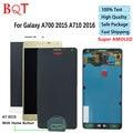 Dhl livre a710 a7 lcd para samsung galaxy a7 a7000 a7100 (2016) Display LCD & Touch Screen Digitador Assembléia de Melhor Qualidade