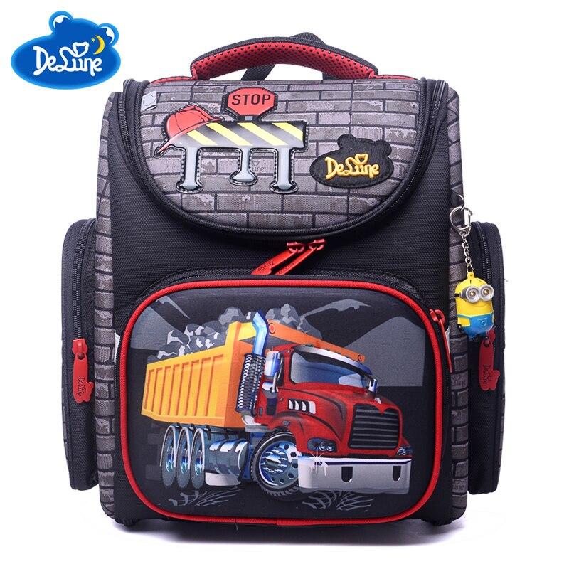 New High Quality Orthopedic Waterproof Children School Bags Girls Primary 1 5 Grade School Backpack Kids