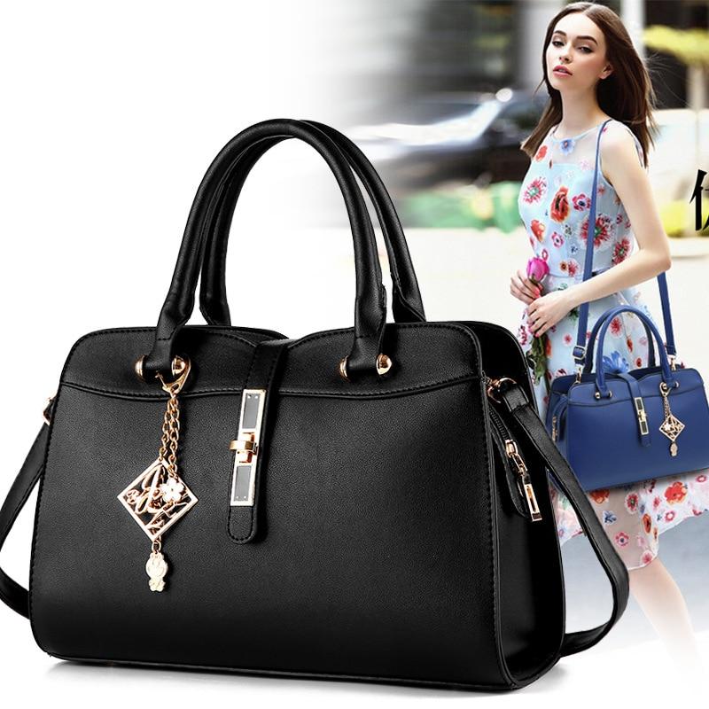 Women Bags 2018 New Korean Fashion Wild Tide Fyra säsonger Boston - Handväskor