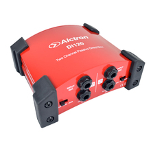 Professional passive DI box used in guitar recording and stage performance, great for keyboard, acoustic and electric guitar