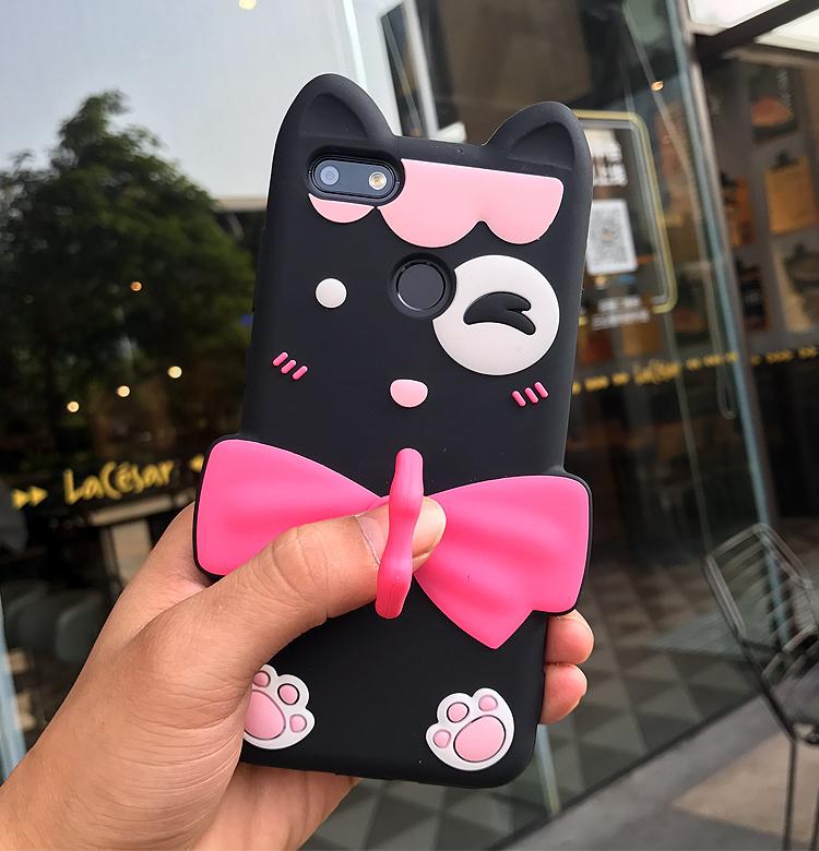 Fashion 3D Cartoon Cat Case For Huawei Nova Lite 2017