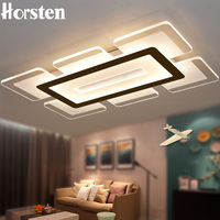 Horsten 110 220V Sky City Ultra Thin Transparent LED Ceiling Light Modern Creative Acrylic Bedroom Living