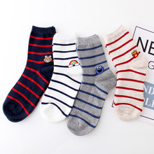 Cute Cat Funny Socks Women Casual Spring Autumn New Products Plush Tube Cotton Breathable Fashion