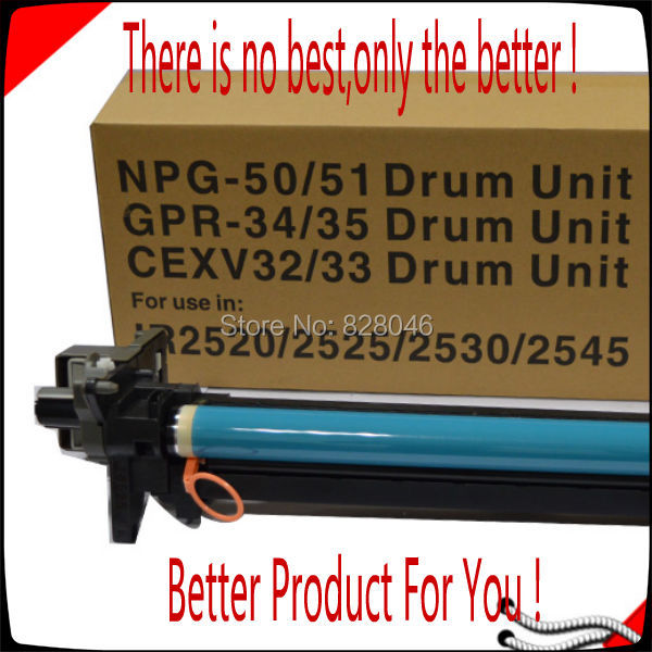 Compatible Canon Copier Parts IR2520 IR2525 IR2530 IR2535 IR2535I IR2545 IR2545I Drum Unit,For Canon GPR34 CRP35 Reset Dum Unit