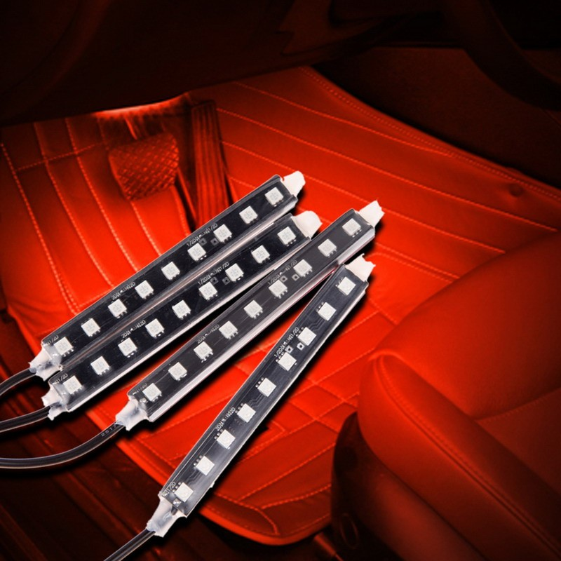 Car Interior Atmosphere Light LED for BMW E46 E39 E90 E36 E60 E34 E30 F30 F10 <font><b>X5</b></font> <font><b>E53</b></font> Audi A3 A4 B6 B5 B8 B7 A6 C5 C6 A5 Q5 image