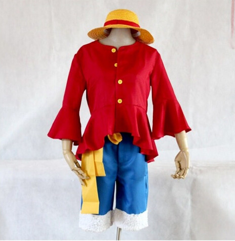 Luffy Cosplay Costume