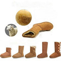 Bota UG Marca Mulheres sapatos Da Moda Inverno tornozelo Para A Mulher Quente Furry Botas Senhora Neve Ugs Austrália Botas sapatos das senhoras das Mulheres