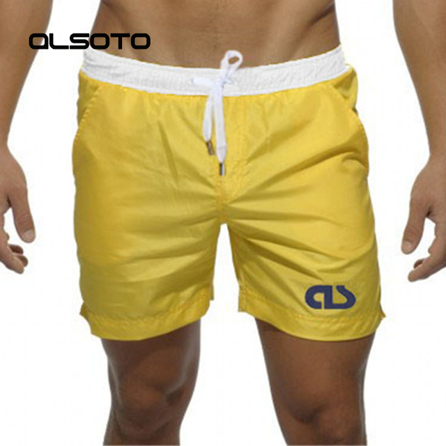 2018 Summer Swimsuit Swimwear Men Sexy swimming trunks sunga briefs mayo Surf Board Beach Shorts badpak Maillot De Bain Boxer