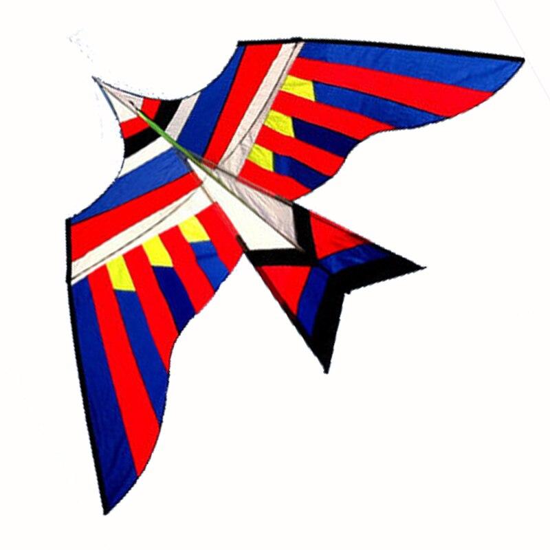 المهنية جودة عالية طائرة ورقية مع مقبض و خط النايلون 3 متر الطاقة الطيور جيدة الطائر-في طائرات ورقية وملحقاتها من الألعاب والهوايات على  مجموعة 1
