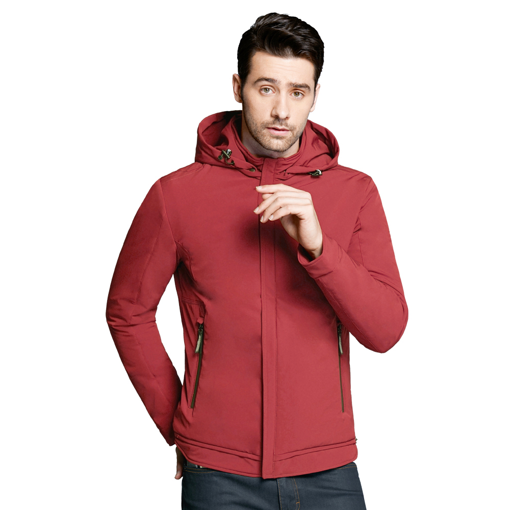 ICEbear 2018 new autumn men's jacket high-quality man casual coat padded loose men's brand jackets BMWC18099D men skiing jackets warm waterproof windproof cotton snowboarding jacket shooting camping travel climbing skating hiking ski coat