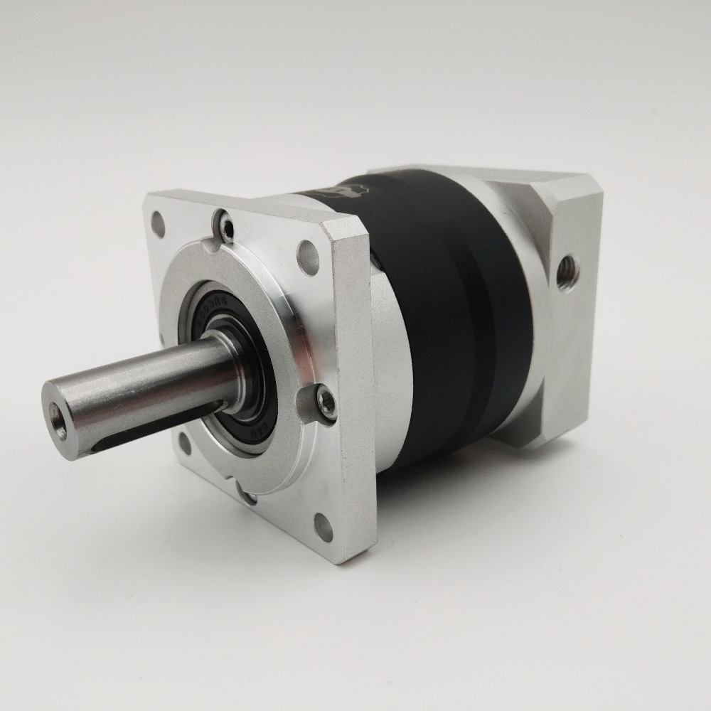 Industrial CNC High Efficiency Servo Motor Reducer 25:1 Speed Ratio Planetary Gear Reducer for NEMA 42 Servo Motor LRF120-25