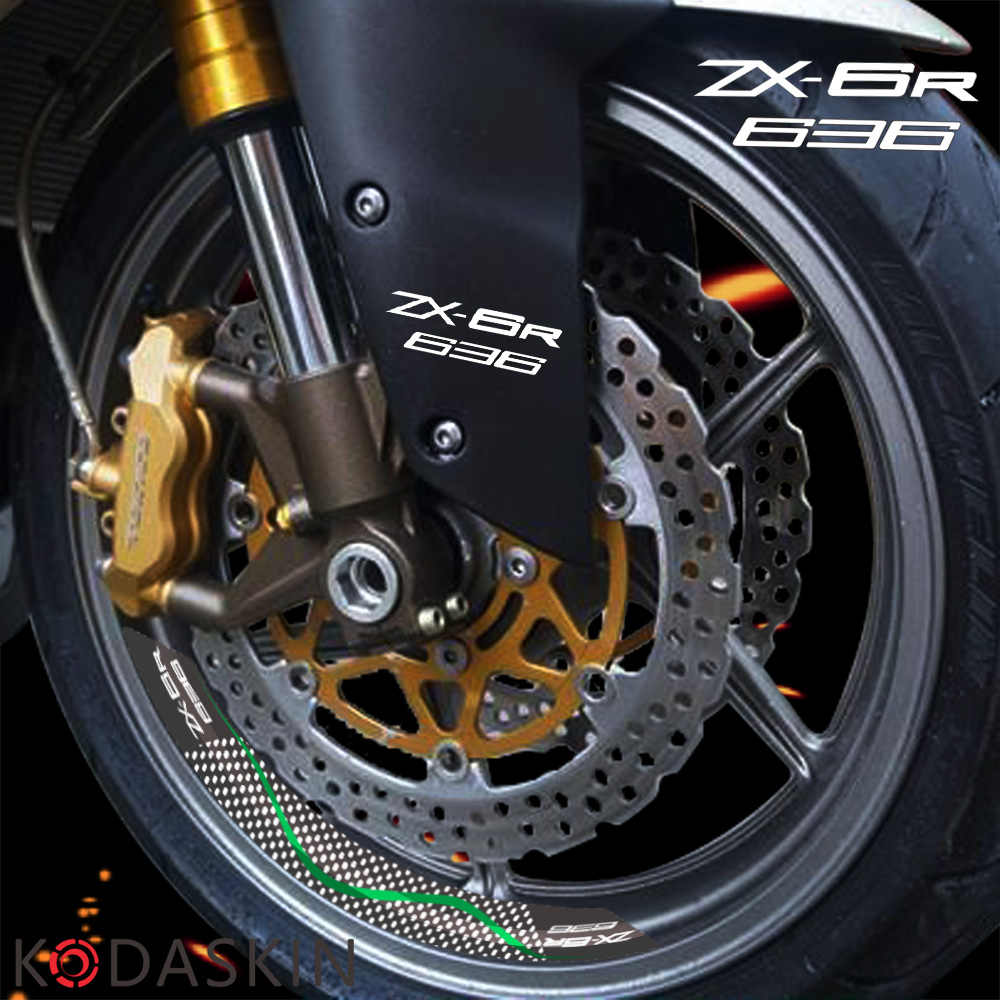 Hot Sale Kodaskin 2d Sticker Decal Wheel Rim For Kawasaki Zx 6r