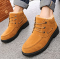 2016 winter new fashion Men shoes Men winter boots thick warm snow boots Martin boots Men cotton padded shoes large size 38-46