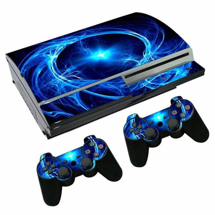 Most popular colourful decal vinyl skin sticker wrap For Playstation3 FAT For PS3 Fat console