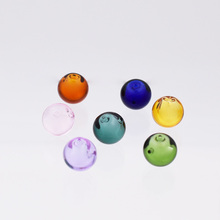 7pieces 12mm ball Diffuser Perfume Refillable handmade Essential Oil Aromatherapy glass Bottle jewelry pendant